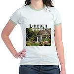 Lincoln Nebraska Jr. Ringer T-Shirt