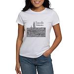 Lincoln Nebraska Women's Classic White T-Shirt