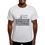 Lincoln Nebraska Light T-Shirt
