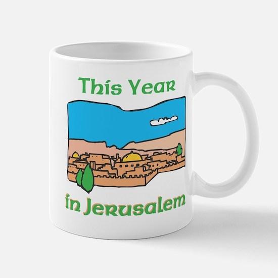 This Year In Jerusalem Mug