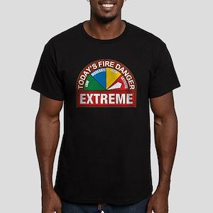 Wildland Fire Men's Fitted T-Shirt (dark)