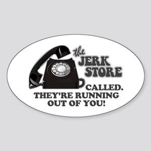 the Jerk Store Seinfeld Oval Sticker