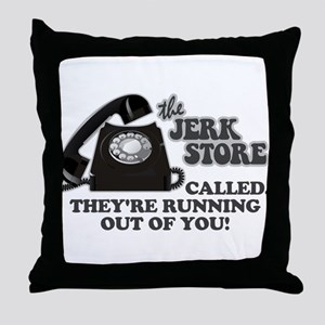 the Jerk Store Seinfeld Throw Pillow