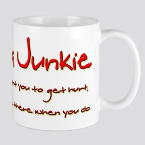 Trauma Junkie Creed Mug