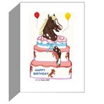 Pony Surprise Cake Greeting Cards (Pk of 20)