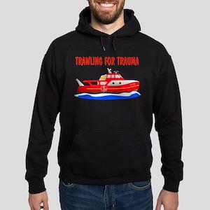 Trawling for Trauma Hoodie (dark)