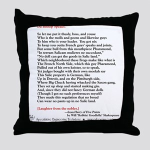 Harry of 5 Points Throw Pillow