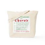 Debating Liberals Tote Bag