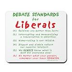 Debating Liberals Mousepad