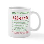 Debating Liberals Mug