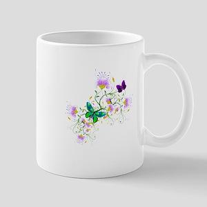 Vector Flowers Mugs