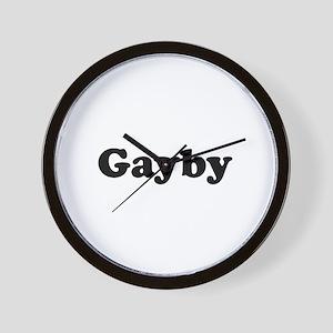 Gayby Wall Clock