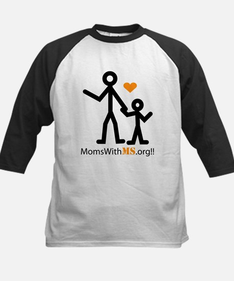Moms With MS Transparent Baseball Jersey
