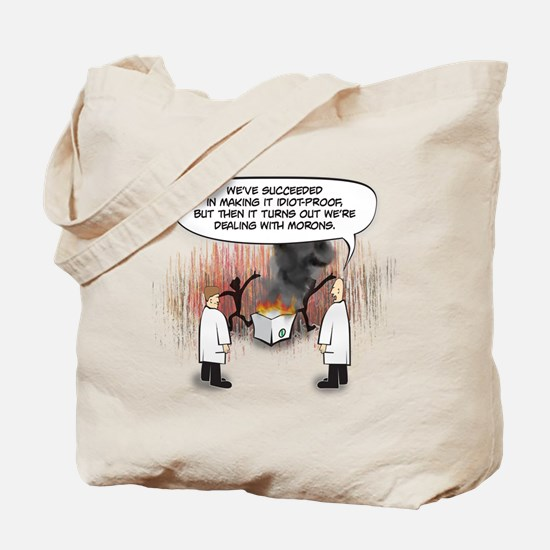 Idiot Proof Tote Bag