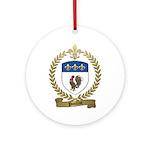 POULIOT Family Crest Ornament (Round)
