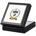 POULIOT Family Crest Keepsake Box