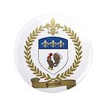 "POULIOT Family Crest 3.5"" Button (100 pack)"