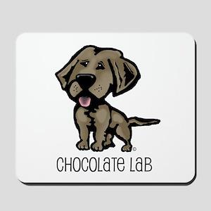 Chocolate Lab Mousepad