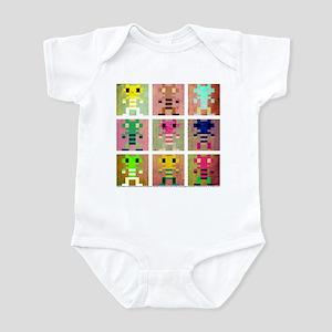 Multi-Color Rockford Infant Bodysuit