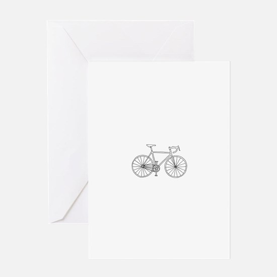 road bike Greeting Card