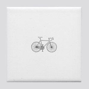 road bike Tile Coaster