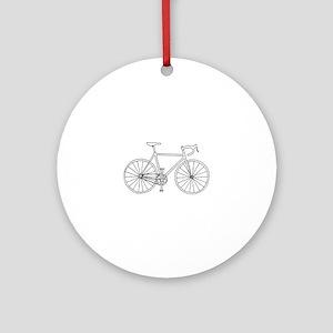 road bike Ornament (Round)