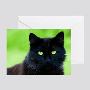 Beautiful Black Cat Greeting Cards (Pk of 10)