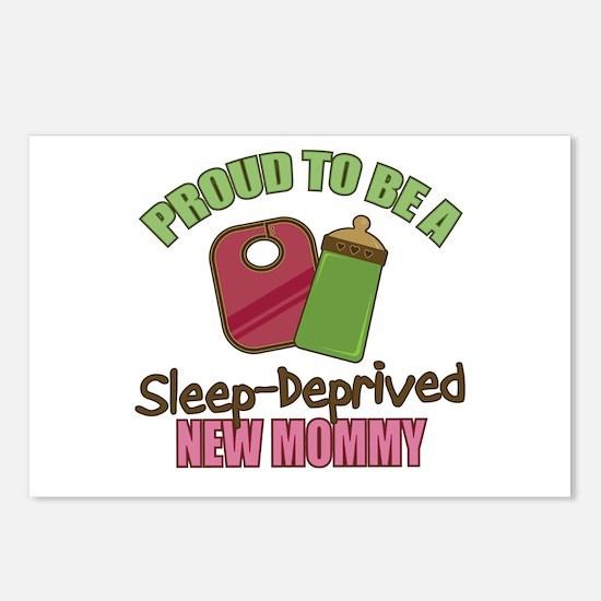 Sleep-Deprived Mom Postcards (Package of 8)