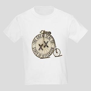 2009 State of Jefferson Tour Kids Light T-Shirt