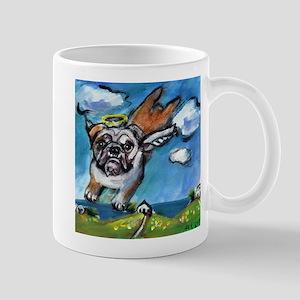 English Bulldog angel flys fr Mug