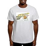 Wood Rat Ash Grey T-Shirt