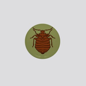 classy bed bug Mini Button