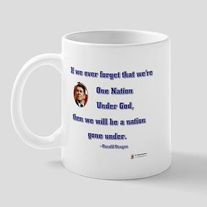 Reagan Nation Under God Mug