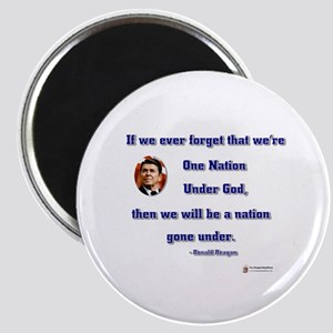 Reagan Nation Under God Magnet