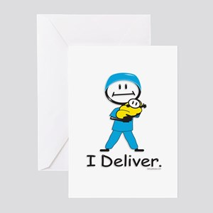 OB Doctor / Nurse Greeting Cards (Pk of 10)