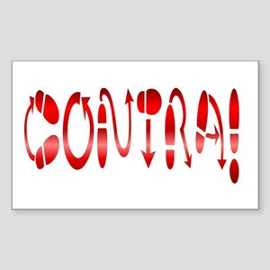 Contra! Contra Dance! Rectangle Sticker