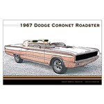1967 Dodge Coronet Roadster Large Poster