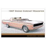1967 Dodge Coronet Roadster Large Poster