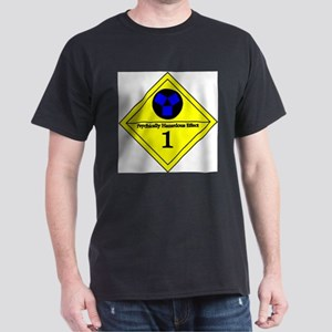 Psychic Hazard 1 Black T-Shirt