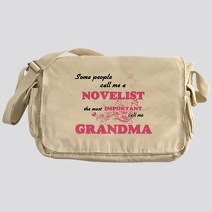 Some call me a Novelist, the most im Messenger Bag