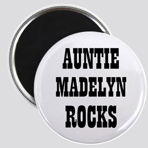 """AUNTIE MADELYN ROCKS 2.25"""" Magnet (10 pack)"""