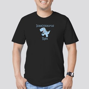 Mom, Dad, & Isaacosaurus Men's Fitted T-Shirt