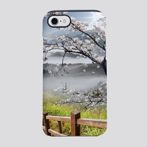 Japanese Cherry Landscape iPhone 7 Tough Case