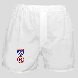 No U-Turn Boxer Shorts