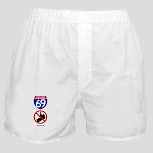 No Thumbing Boxer Shorts