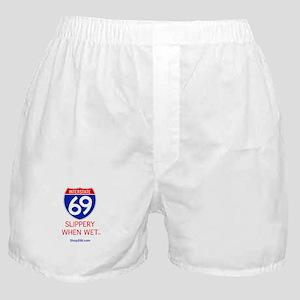 Slippery When Wet Boxer Shorts