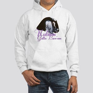 Nubian Goat Gotta Love 'em Hooded Sweatshirt