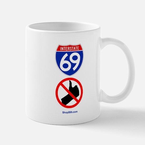 No Thumbing Mug