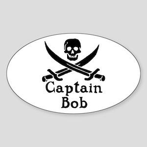 Captain Bob Sticker (Oval)
