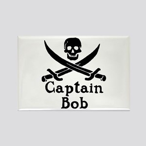 Captain Bob Rectangle Magnet